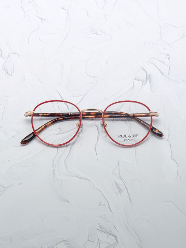Lunette de vue Paul & Joe JAVA rouge