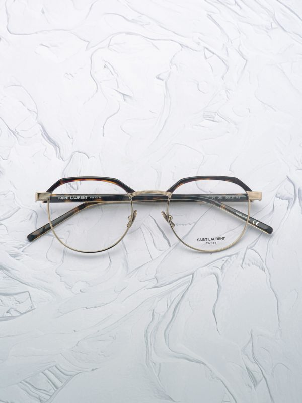 Lunette de vue Saint Laurent 124 or
