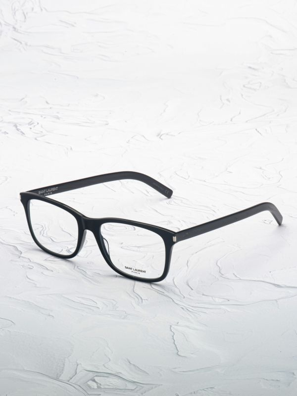 Paire de lunette Saint Laurent 288 noir inclinée