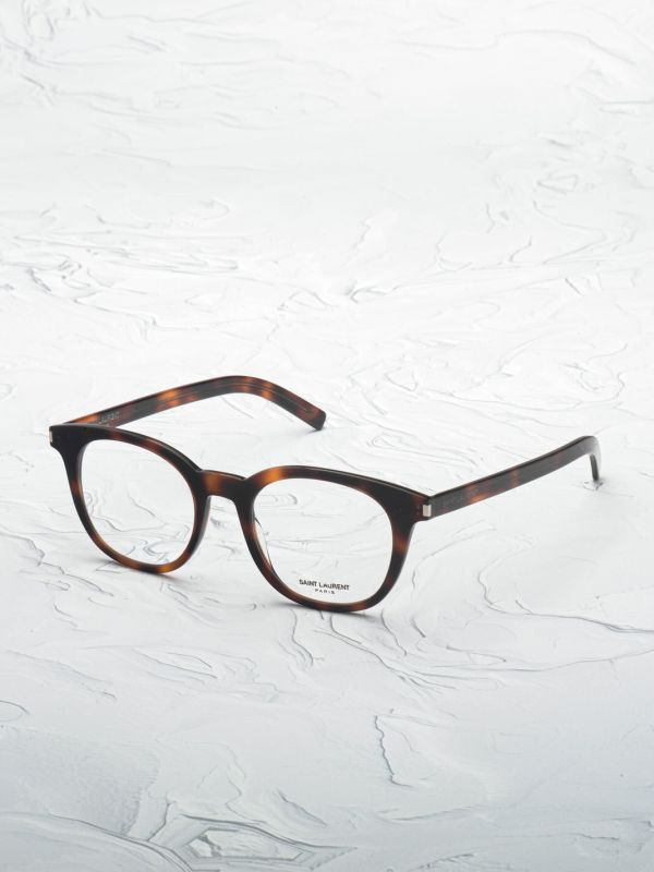 lunette de vue Saint Laurent 289 marron inclinée