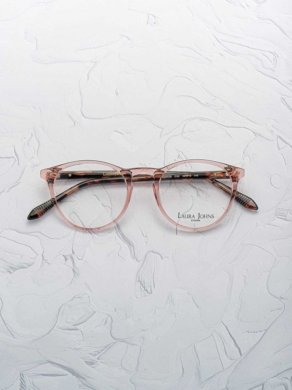 Lunettes de vue Laura Johns 4028 opticien optic duroc vue face