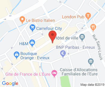 62 Rue du Dr Oursel, 27000 Évreux, France